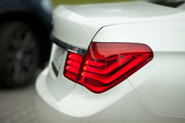 Tail lights after BMW repair in Sammamish, WA